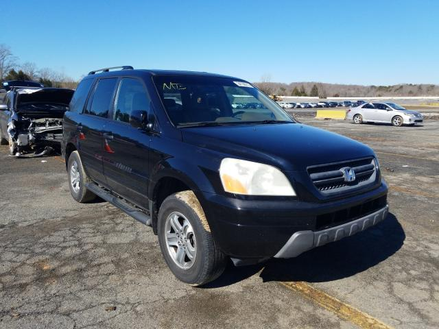 Salvage cars for sale from Copart Concord, NC: 2005 Honda Pilot EXL