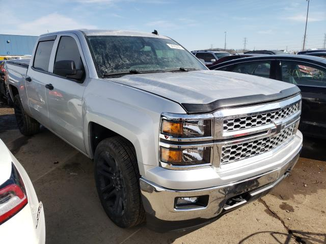 Salvage cars for sale from Copart Woodhaven, MI: 2014 Chevrolet Silverado