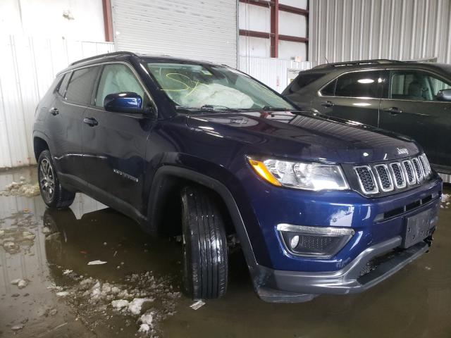 Salvage cars for sale from Copart Albany, NY: 2018 Jeep Compass LA