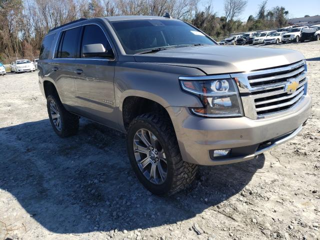 Salvage cars for sale from Copart Tifton, GA: 2017 Chevrolet Tahoe K150