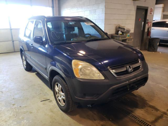 Salvage cars for sale from Copart Sandston, VA: 2004 Honda CR-V EX