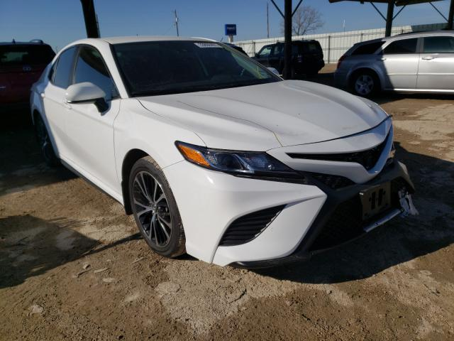 Salvage cars for sale from Copart Temple, TX: 2020 Toyota Camry SE