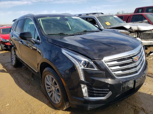 Salvage cars for sale at Bridgeton, MO auction: 2017 Cadillac XT5 Luxury