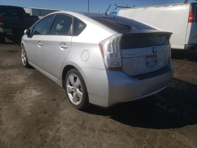 2011 TOYOTA PRIUS - Right Front View