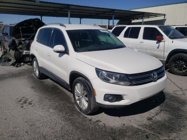 Volkswagen salvage cars for sale: 2012 Volkswagen Tiguan S