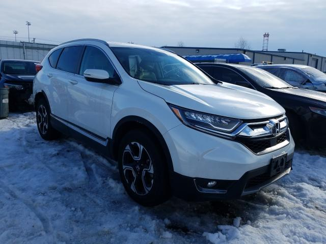 Salvage cars for sale from Copart Finksburg, MD: 2019 Honda CR-V Touring