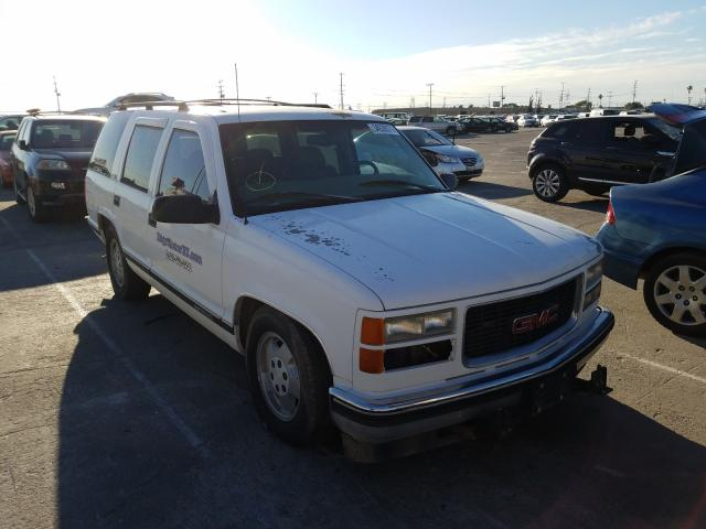 Salvage cars for sale from Copart Sun Valley, CA: 1998 GMC Yukon