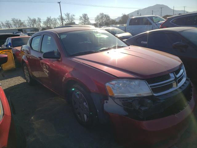 Salvage cars for sale from Copart Colton, CA: 2014 Dodge Avenger SE