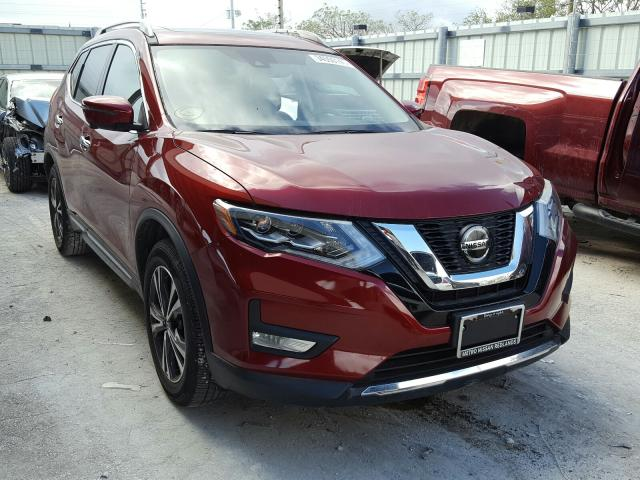 Salvage cars for sale from Copart Homestead, FL: 2018 Nissan Rogue S