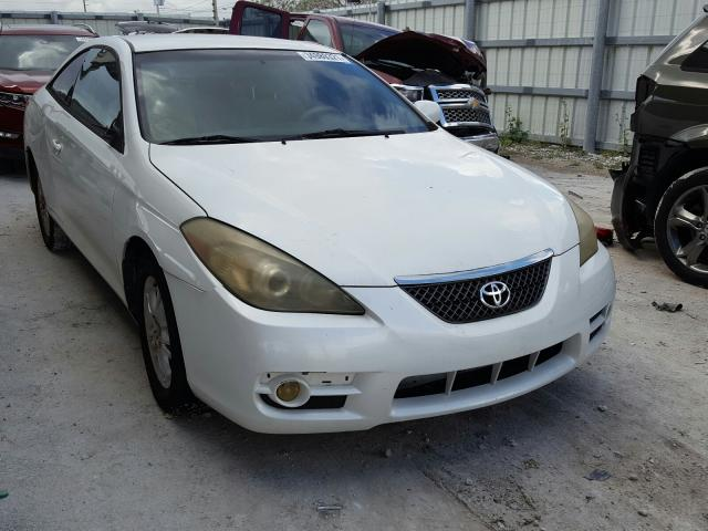 Salvage cars for sale from Copart Homestead, FL: 2007 Toyota Camry Sola