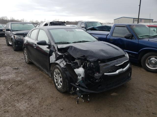 Salvage cars for sale from Copart Lawrenceburg, KY: 2019 KIA Forte FE