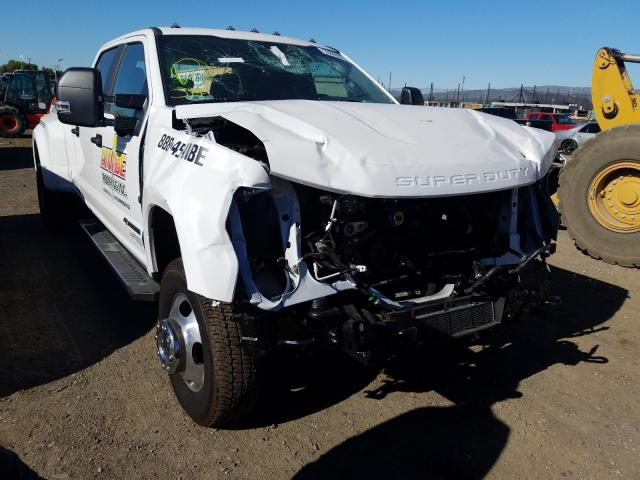 Salvage cars for sale from Copart San Martin, CA: 2020 Ford F350 Super