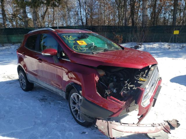 Ford Ecosport T salvage cars for sale: 2019 Ford Ecosport T