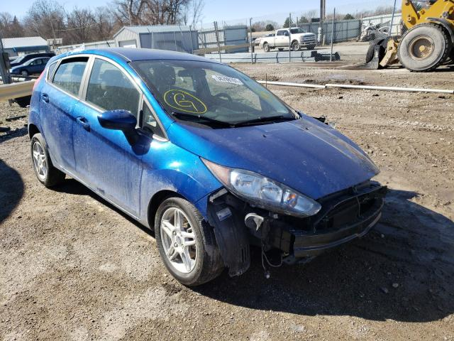 Salvage cars for sale from Copart Wichita, KS: 2019 Ford Fiesta SE