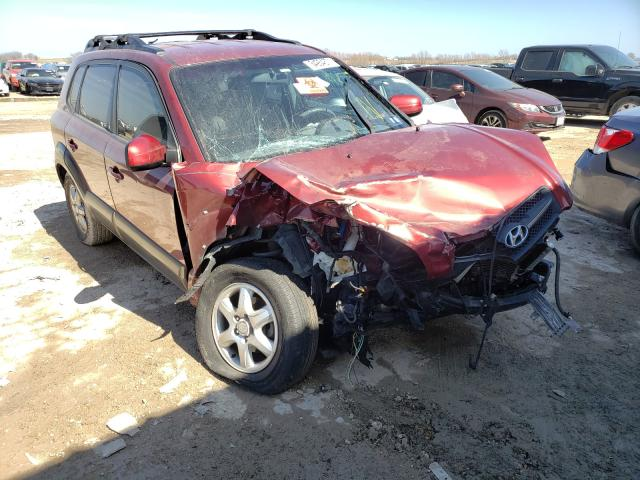 Salvage cars for sale from Copart Temple, TX: 2005 Hyundai Tucson GLS