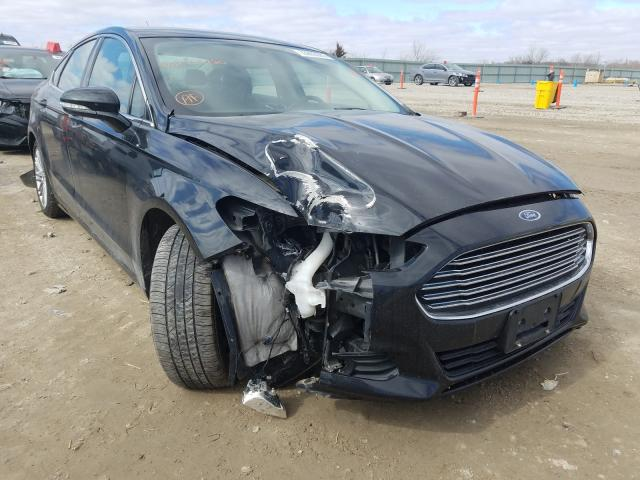 Salvage cars for sale from Copart Kansas City, KS: 2015 Ford Fusion SE