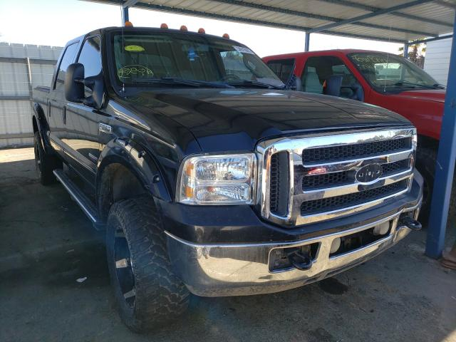 Salvage cars for sale from Copart Martinez, CA: 2006 Ford F250 Super