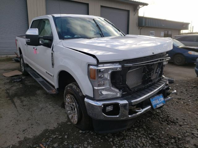 Vehiculos salvage en venta de Copart Eugene, OR: 2021 Ford F250 Super