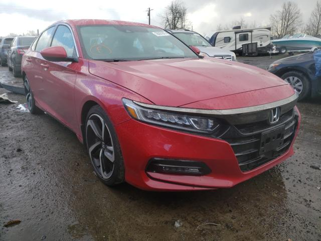 Salvage cars for sale from Copart Portland, OR: 2020 Honda Accord Sport