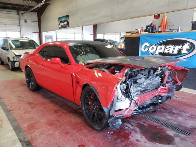 Salvage cars for sale from Copart Angola, NY: 2018 Dodge Challenger