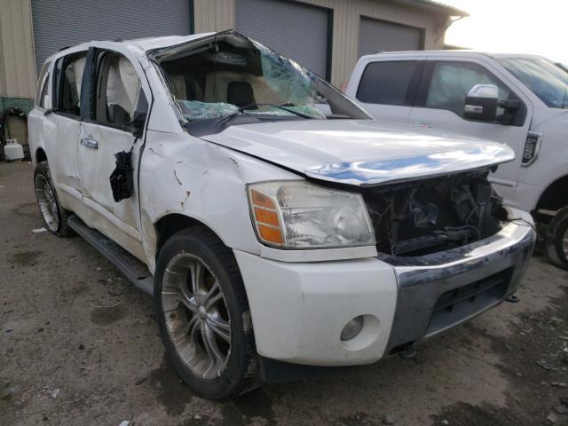 Salvage cars for sale from Copart Eugene, OR: 2004 Nissan Armada