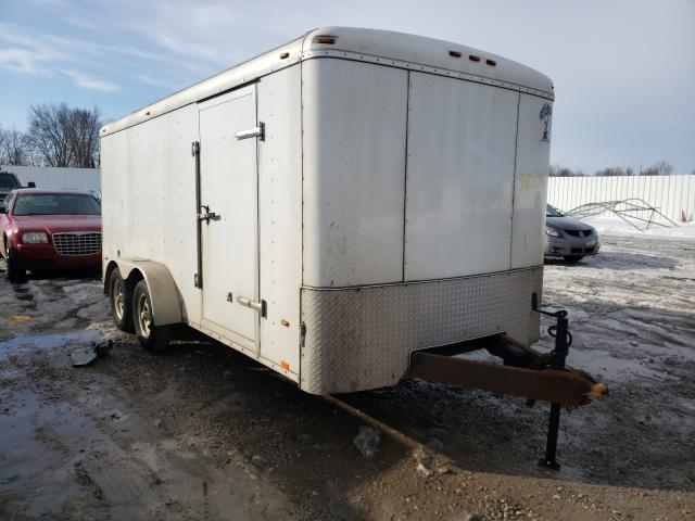 Salvage cars for sale from Copart Lansing, MI: 2017 Atls Trailer