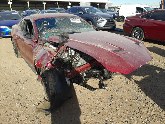 Salvage cars for sale from Copart Phoenix, AZ: 2018 Ford Mustang