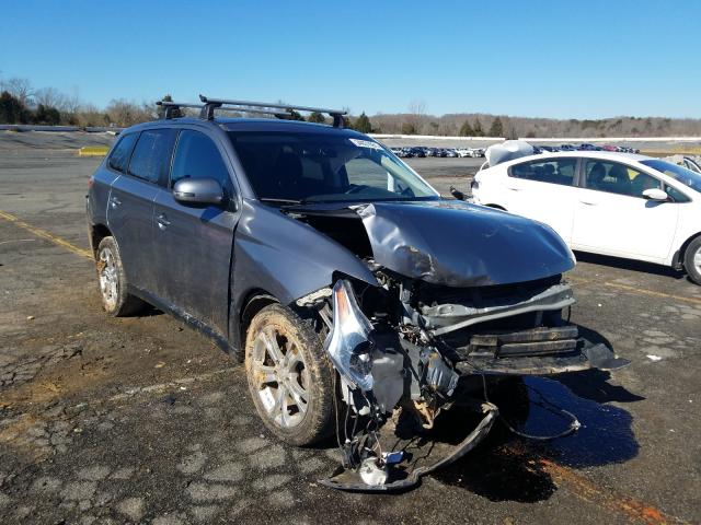 Salvage cars for sale from Copart Concord, NC: 2014 Mitsubishi Outlander