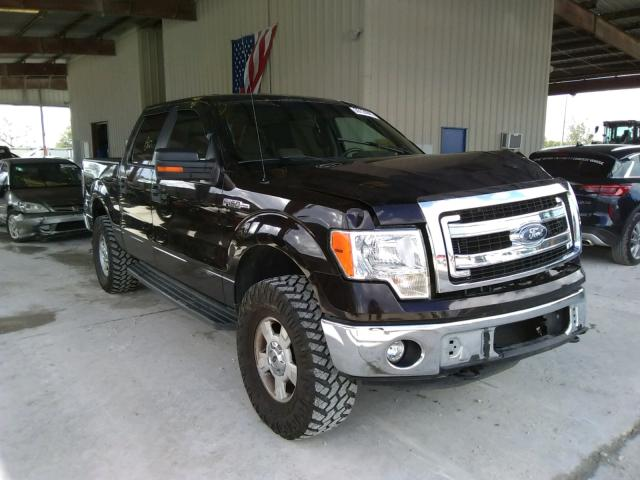 Salvage cars for sale from Copart Homestead, FL: 2014 Ford F150 Super