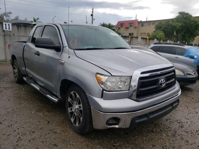 Salvage cars for sale from Copart Opa Locka, FL: 2013 Toyota Tundra DOU