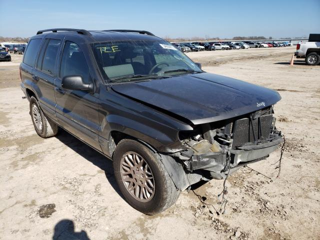 Salvage cars for sale from Copart Temple, TX: 2004 Jeep Grand Cherokee