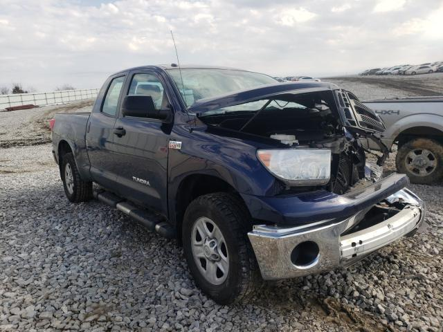 Salvage cars for sale from Copart Louisville, KY: 2011 Toyota Tundra DOU