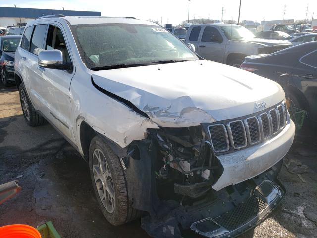 Salvage cars for sale from Copart Woodhaven, MI: 2019 Jeep Grand Cherokee