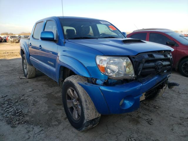 Salvage cars for sale from Copart Temple, TX: 2008 Toyota Tacoma DOU