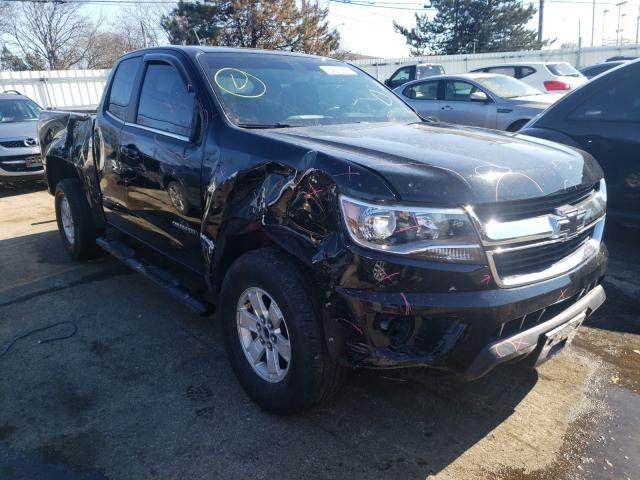 Salvage cars for sale from Copart Moraine, OH: 2016 Chevrolet Colorado