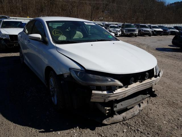 Salvage cars for sale from Copart Hurricane, WV: 2015 Chrysler 200 Limited