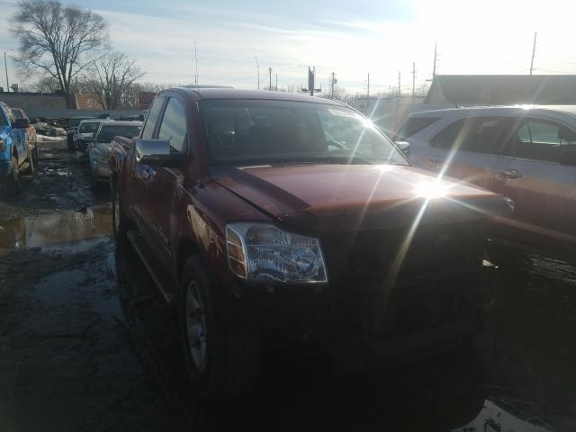 Nissan salvage cars for sale: 2005 Nissan Titan XE