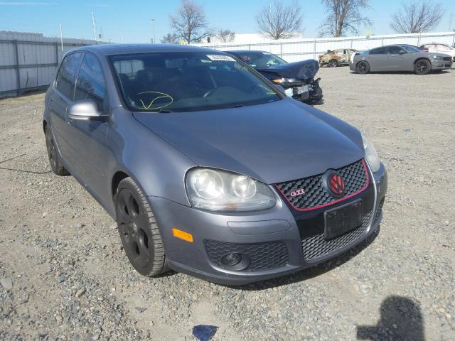Salvage cars for sale from Copart Sacramento, CA: 2009 Volkswagen Golf GTI