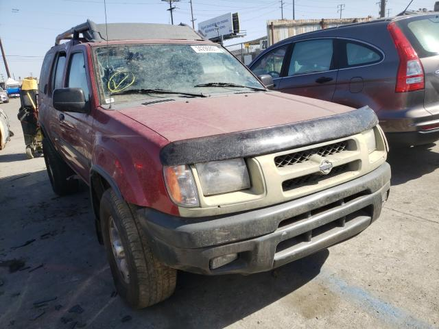 Nissan salvage cars for sale: 2001 Nissan Xterra XE