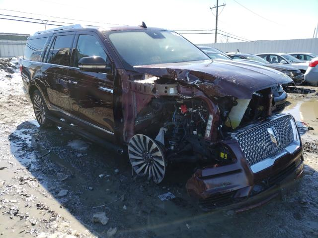 Salvage cars for sale from Copart Windsor, NJ: 2018 Lincoln Navigator