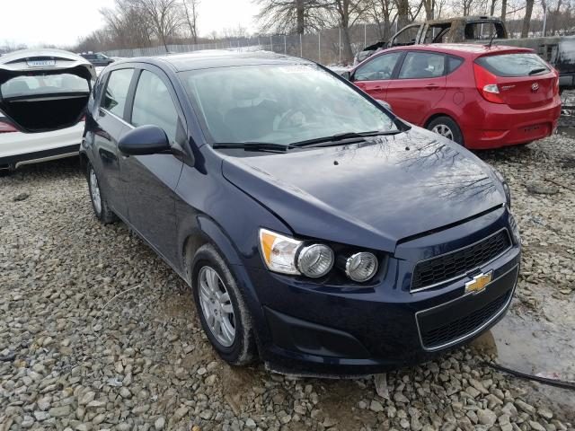 Salvage cars for sale from Copart Cicero, IN: 2016 Chevrolet Sonic LT