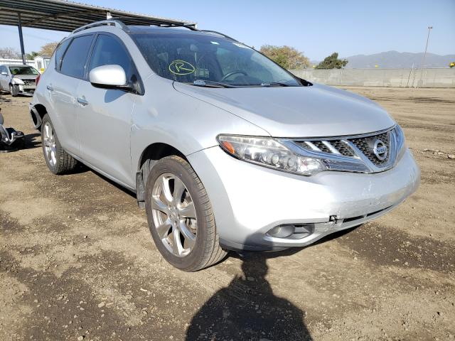 Nissan salvage cars for sale: 2012 Nissan Murano S