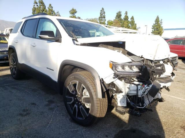 Salvage cars for sale from Copart Rancho Cucamonga, CA: 2021 GMC Acadia SLT