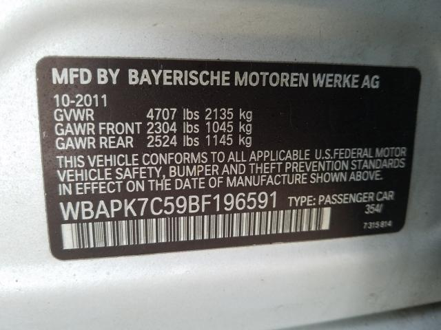 2011 BMW 328 XI - Other View