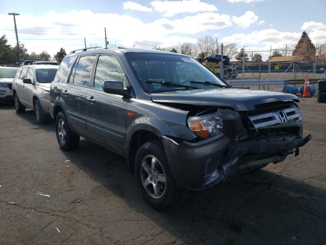 Salvage cars for sale from Copart Denver, CO: 2008 Honda Pilot EXL