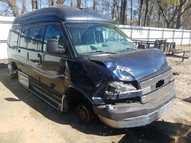 Salvage cars for sale from Copart Austell, GA: 2005 Chevrolet Express G1