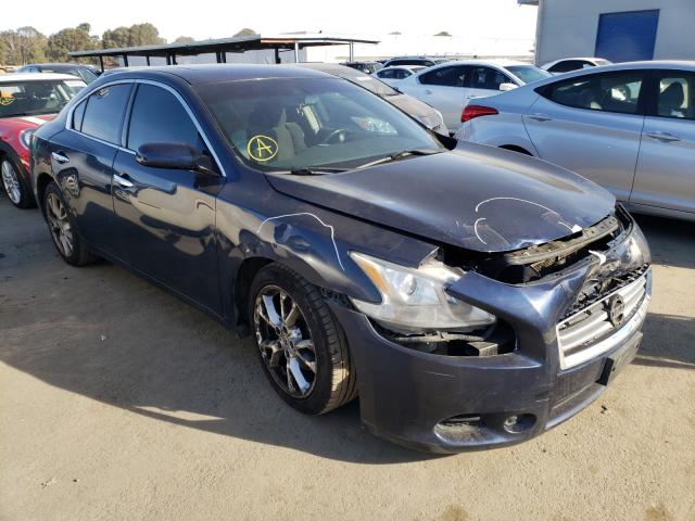 Nissan salvage cars for sale: 2012 Nissan Maxima S