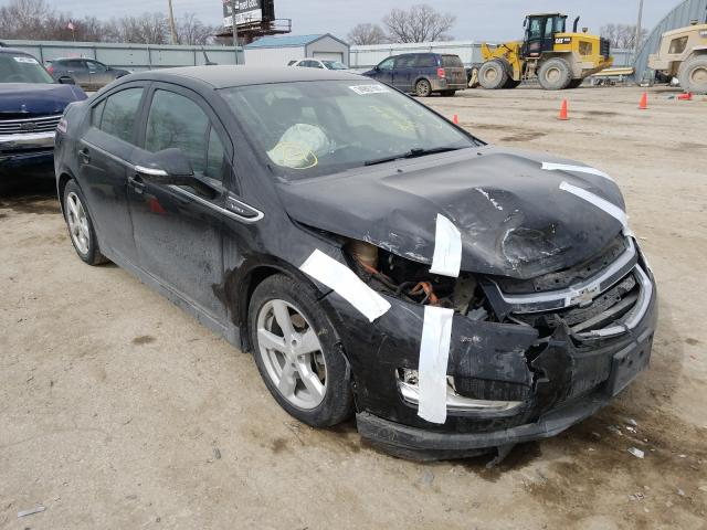 Salvage cars for sale from Copart Wichita, KS: 2013 Chevrolet Volt