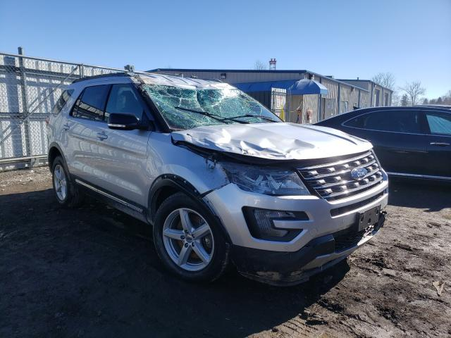 Salvage cars for sale from Copart Finksburg, MD: 2017 Ford Explorer X