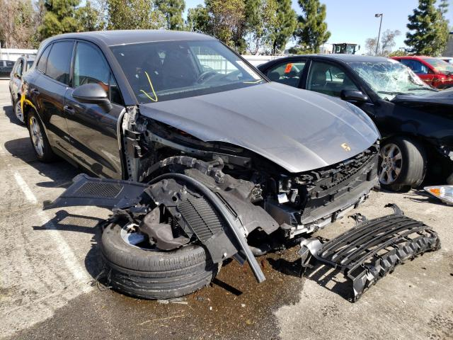 Salvage cars for sale from Copart Rancho Cucamonga, CA: 2019 Porsche Cayenne SE